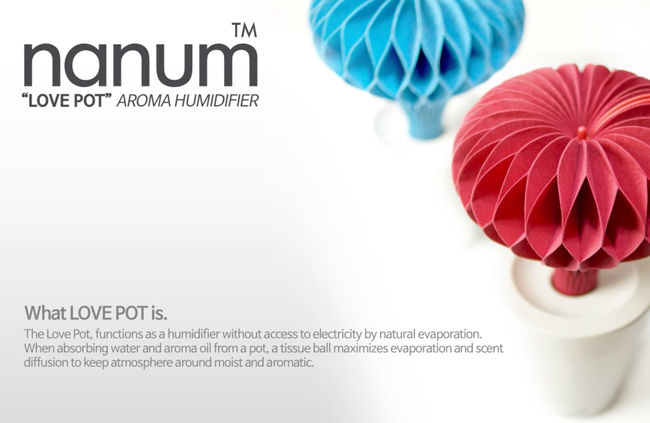 NANUM natural humidifier