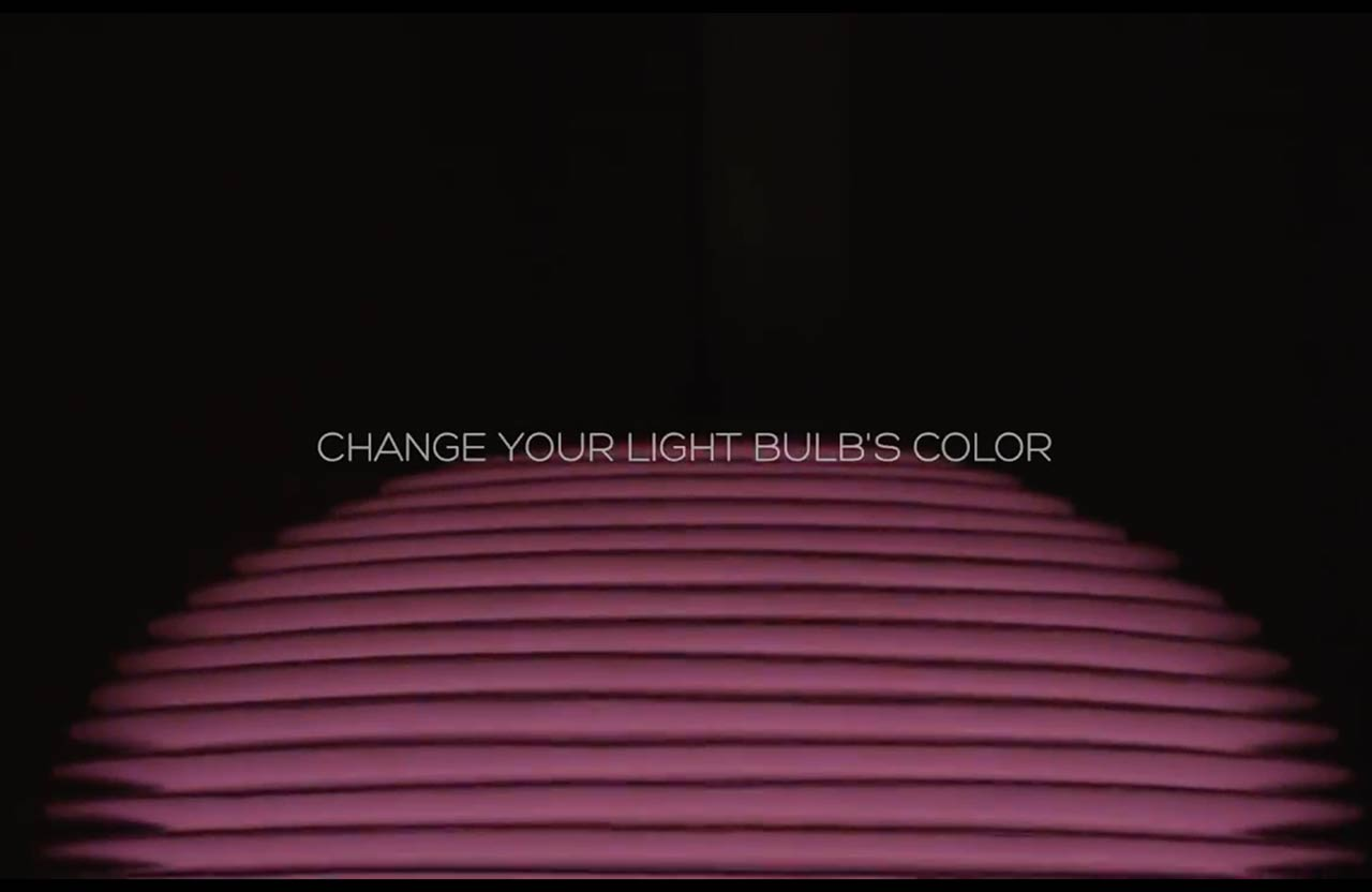 PIOZIO color change lighting